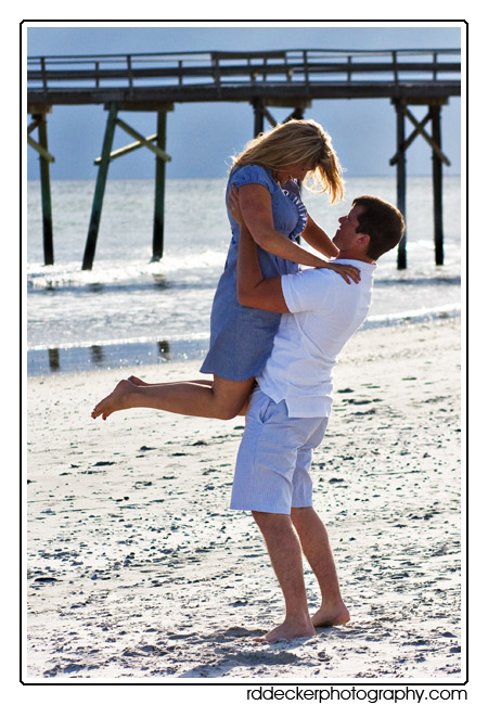 A little fun in the sun on Atlaintic Beach, a top North Carolina vacation spot.