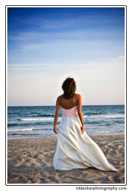 North Carolina's beaches make a great wedding destination... far enough away to escape yet close enogh to home to drive.